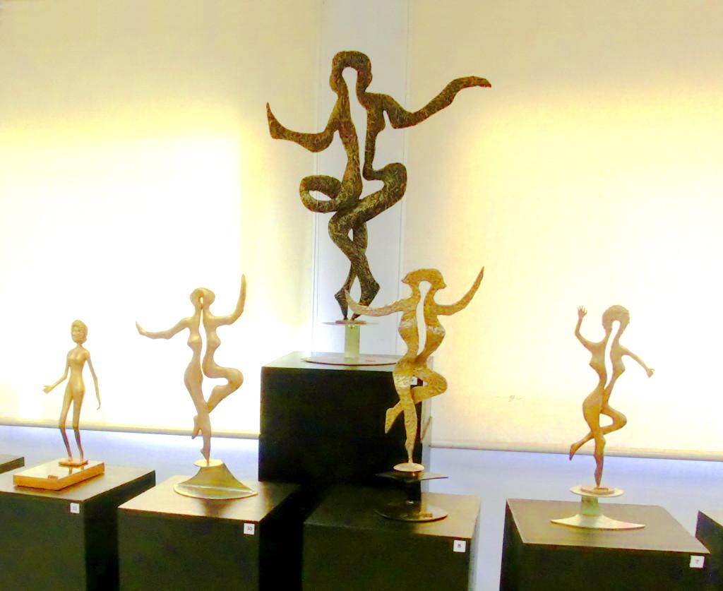 Esculturas de la exposición
